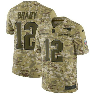 1a00d21c7 New NIKE NFL SALUTE TO SERVICE LIMITED Tom Brady New England Patriots JERSEY