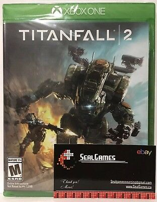 Titanfall 2 (Microsoft Xbox One, 2016) *BRAND NEW SEALED* Canadian Seller