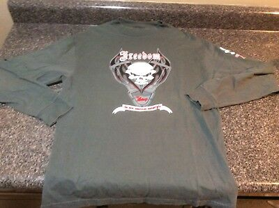 286618709 Victory Motorcycle New OEM Women/'s Red Foil 3//4 Sleeve T-Shirt XL