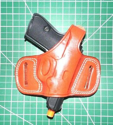 CEBECI LEATHER PANCAKE OWB Thumb Break Holster, for CZ-75