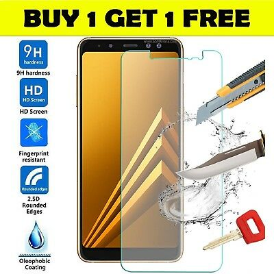 Tempered Glass Screen Protector Cover For Samsung Galaxy A9 2018 100% genuine