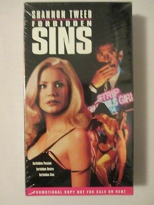 Forbidden Sins VHS Shannon Tweed NEW RARE FACTORY SEALED