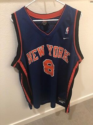 622c4b5df Vintage NBA New York Knicks Latrell Sprewell 8 Jersey Mens XXL Champion