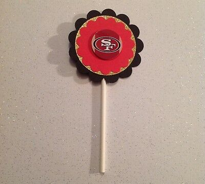 Nfl San Francisco 49ers Cupcake Toppers