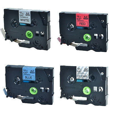 4PK TZe TZ 131 231 431 531 Label Tape For Brother P-Touch PT-7100 PT-7500 7600