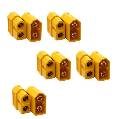 5 Pairs Lots 10Pcs XT60 Male Female Bullet Connectors Plugs For RC Lipo Battery