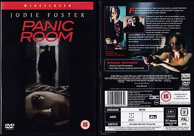 Panic Room (DVD 2002) Jodie Foster Jared Leto Forest Whitaker