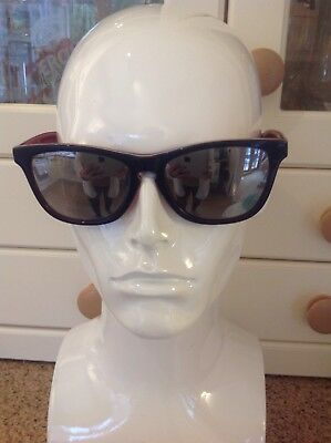 91afafef5c Oakley Mens Frogskin Lx Blue red Sunglasses Used Light Scratches To Lenses