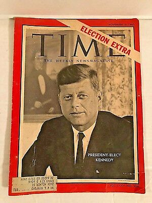 TIME Magazine Election Extra John F Kennedy