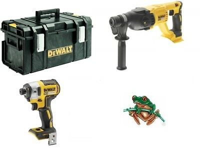 Dewalt Dch033 Dcf887 Brushless Sds Brushless Impact Driver Bare Units Free Ds300