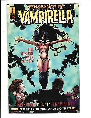 VENGEANCE of VAMPIRELLA # 18 (HARRIS COMICS, SEPT 1995), VF-
