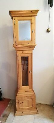 Handmade Pine Clock Case- without clock