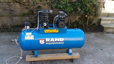 Ingersoll Rand Air Compressor 150 Litre 1 Phase Motor