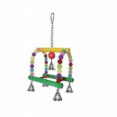 27cm Candy Swing Parrot Bird Toy - Budgies, Conures, Quakers, Cockatiels 5934