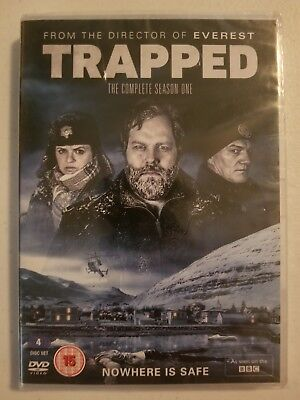 Trapped: The Complete Season One (DVD, 2016) REGION 2