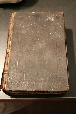 antique vintage British & foreign bible society  holy bible scriptures book