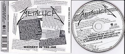 Metallica Whiskey In The Jar Maxi Cd 1998 Part 3 Of A 3 Cd