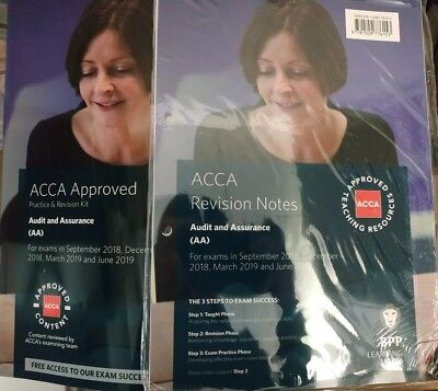 ACCA AUDIT AND ASSURANCE BPP (Revision Notes + Revision Kit 2019