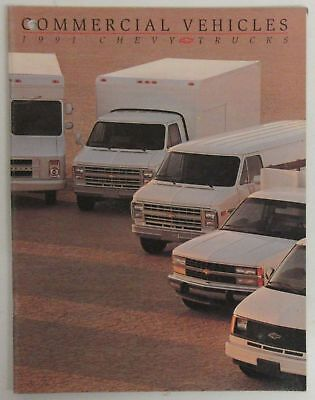 1991 Chevy Trucks Commercial Vehicles Brochure