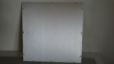 ".090 x 4 1//2/"" x 10 5//16/"" Aluminum Plate Pre Drilled Project Box Enclosure Cover"