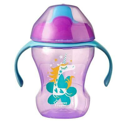 Tommee Tippee Training Sippee Girl's Cup Super Soft Spout BPA Free Non Spill 6m+