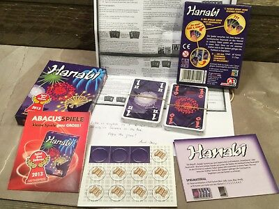 Hanabi Card Game - Fireworks! German edition Sealed cards
