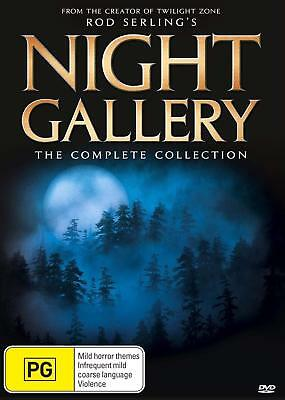 NIGHT GALLERY Season 1 2 3 (Region 2 UK Compatible) DVD The Complete Series