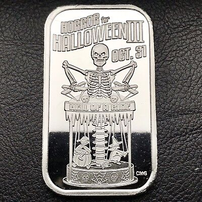 Horror For Halloween III Porrf 1 oz .999 Silver Art Bar Only 50 Minted (2026)