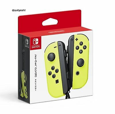 NINTENDO Joy-Con (L) / (R) Neon Yellow NINTENDO SWITCH New