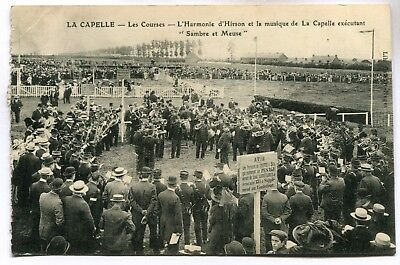 CPA - Carte Postale - France - La Capelle - Les Courses - 1913 (M7153)