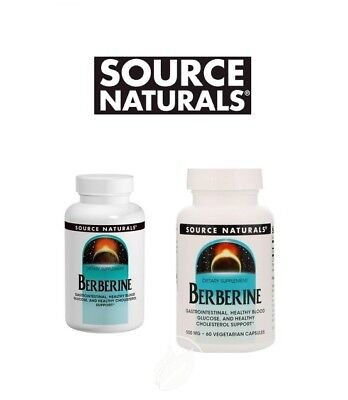 Source Naturals BERBERINE - all sizes - select option