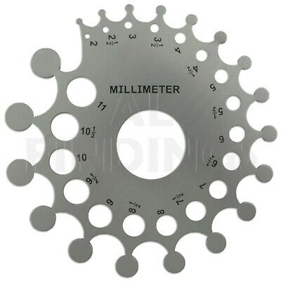 Jewellers Tools Stone & Mounting Gauge 0.32-4 carat, 2-11mm for beads