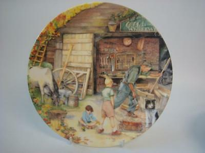 Royal Doulton Old Country Crafts Series The Wheelwright Collector Plate