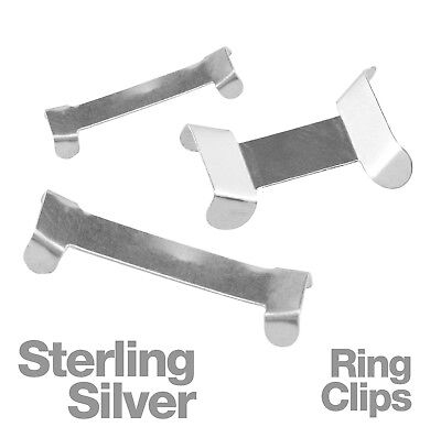 Sterling Silver Ring Clips for Adjusting Jewelllery Rings