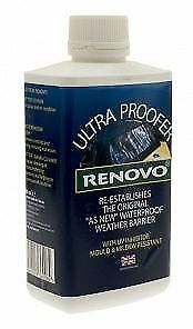 Renovo Canvas Soft Top Hood Ultra Proofer 500ml + Free Pair Latex Gloves OFFER!