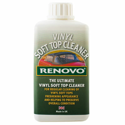 Renovo Ultimate Vinyl Soft Top Cleaner Convertible Cabriolet Hood 500ml OFFER!