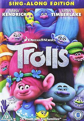 Trolls Dvd Brand New And Sealed Dreamworks Sing Along Edition