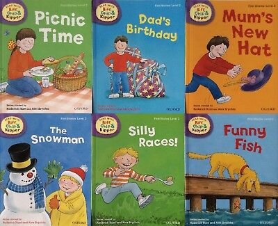 Oxford Reading: Read with Biff,Chip & Kipper First Stories Level 2(6 Books) NEW