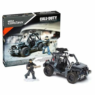 New Mega Construx Call Of Duty ATV Ground Recon Building Set & Figure Official
