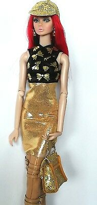 dollsydoll 12 inch fashion doll complete outfit!