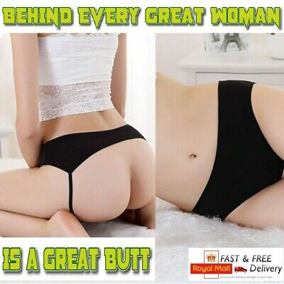 Womens Sexy Underwear Open Crotch Crotchless Lace Knickers Panties Uk 8-12 Gift
