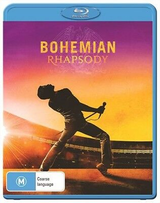 Bohemian Rhapsody Blu-Ray New & Sealed, 2019 Release, Free Post