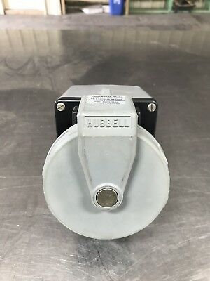 Hubbell Pin & Sleeve 460R5W 60A 480V 3P4W Receptacle W/ Backbox