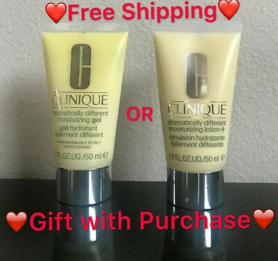 [Pick Gel or Lotion]Clinique Dramatically Different Moisturizing 1.7oz./50ml