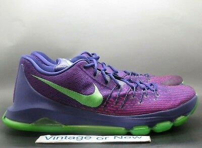 buy popular 63c12 a1d42 Nike KD VIII 8 Suit Court Purple Strike Green Kevin Durant 749375-535 sz 13