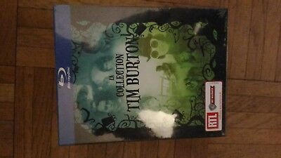 Coffret 4 films Tim Burton - Bluray - Neuf sous blister