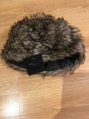 9497bbfc284 NEW LOOK RUSSIAN Faux Fur Eskimo Hat Winter Festival Fake Fluffy One ...