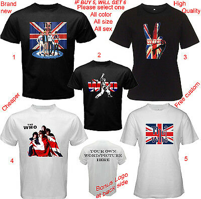 The Who Band Album Concert Tour Shirt Adult S-5XL Youth Infants