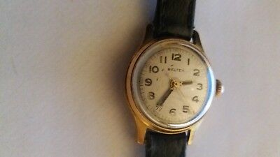 Old Vintage Beltex Swiss Made Wristwatch Hand Watch in Working order