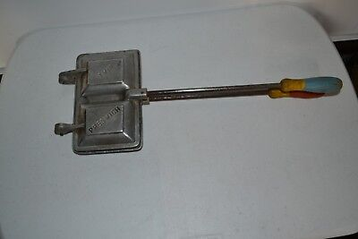 Jaffle Iron Double Twin Vintage Square Preswich Free Postage